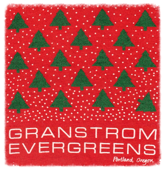 Our original Granstrom Evergreens logo from 1985.