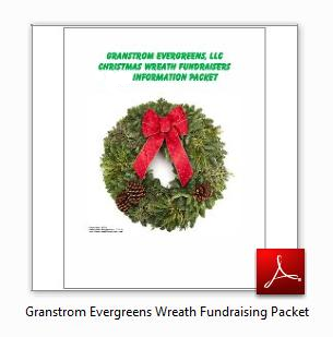 Granstrom Evergreens Wreath Fundraising Packet