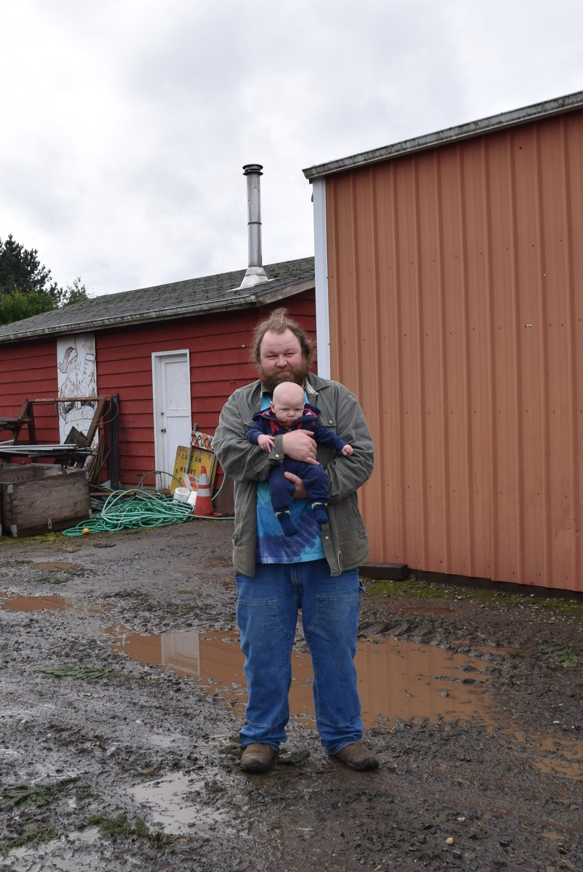 Erik Granstrom, Age 38 and Jasper Granstrom, Age Four Months Old, 2017.