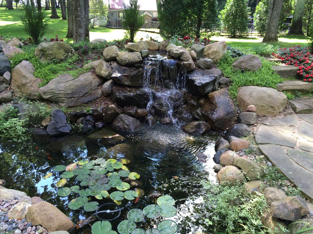 THE SOOTHING SOUND OF WATER! CREATE A FOCAL POINT IN YOUR YARD THAT WILL LAST A LIFETIME!