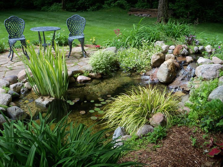 Every yard is its own Naturehood! Enhance your mind and well being with a Waterpaw Pond or Fountain in Northern Michigan