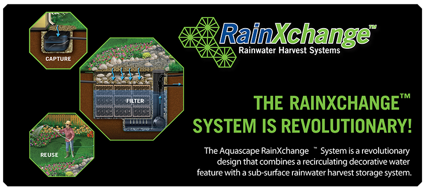 Ready to drop your water bill during the summer? Consider a RainXchange installed by Waterpaw!