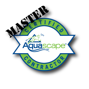 We are your local Master Aquascape Contractor!