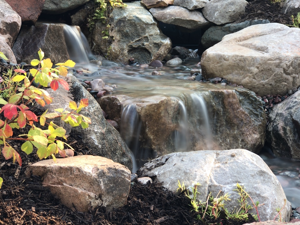 Waterfalls in Charlevoix