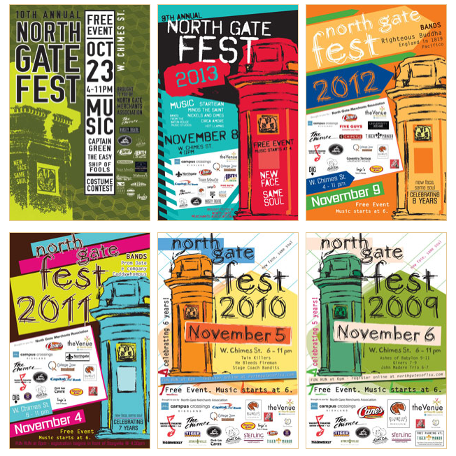 From the NGMA website, posters from previous years. 2004-2013.