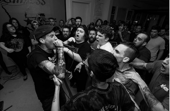 Defeater show at The Dojo in Baton Rouge. Photo by Keegan McGuire.