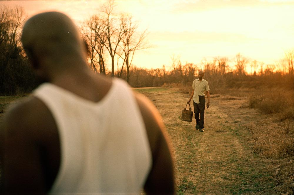 Austin James as Deacon and LB Williams as Mose Wright  Kodak Ektar (35mm)
