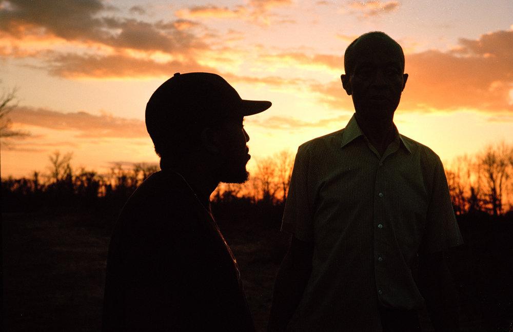 Writer/director Kevin Wilson and actor LB Williams  Kodak Ektar (35mm)