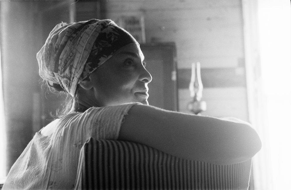 Jasmine Guy as Elizabeth Wright  Kodak Tri-X (35mm)