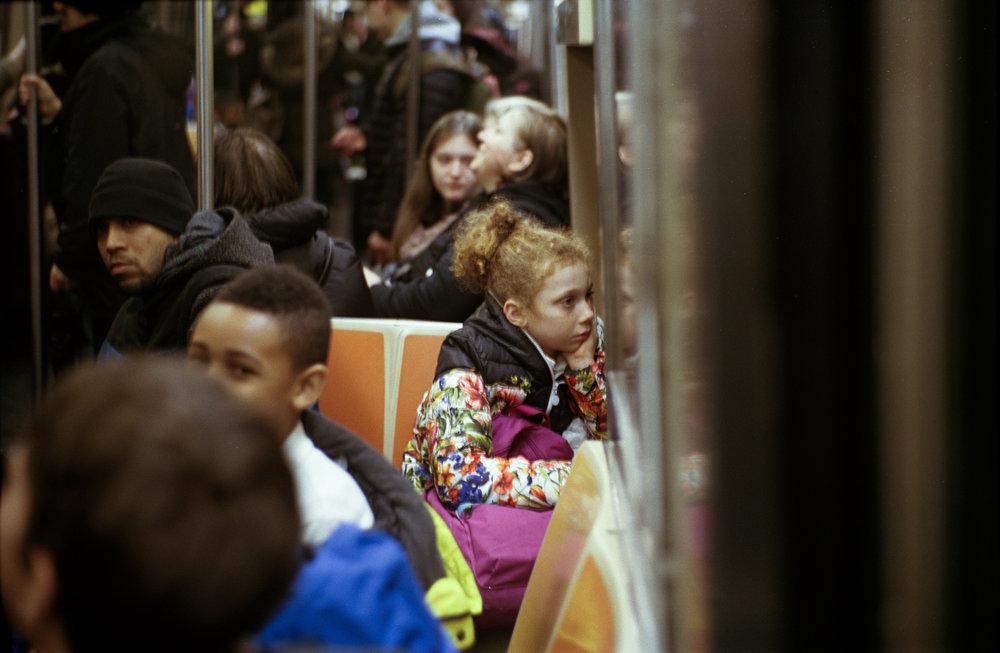 subway commotion