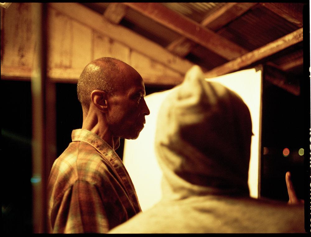 Actor LB Williams and writer/director Kevin Wilson  645 Kodak Portra (Medium Format)