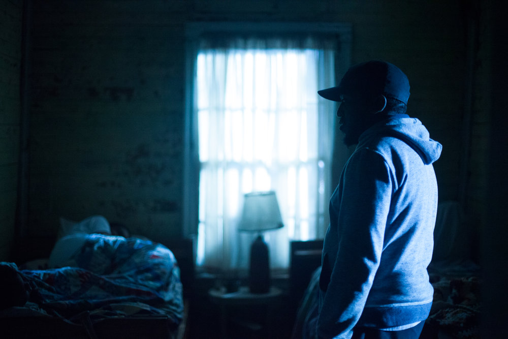Writer/director Kevin Wilson realizing the actors pretending to sleep had gone full-method  Canon 5d
