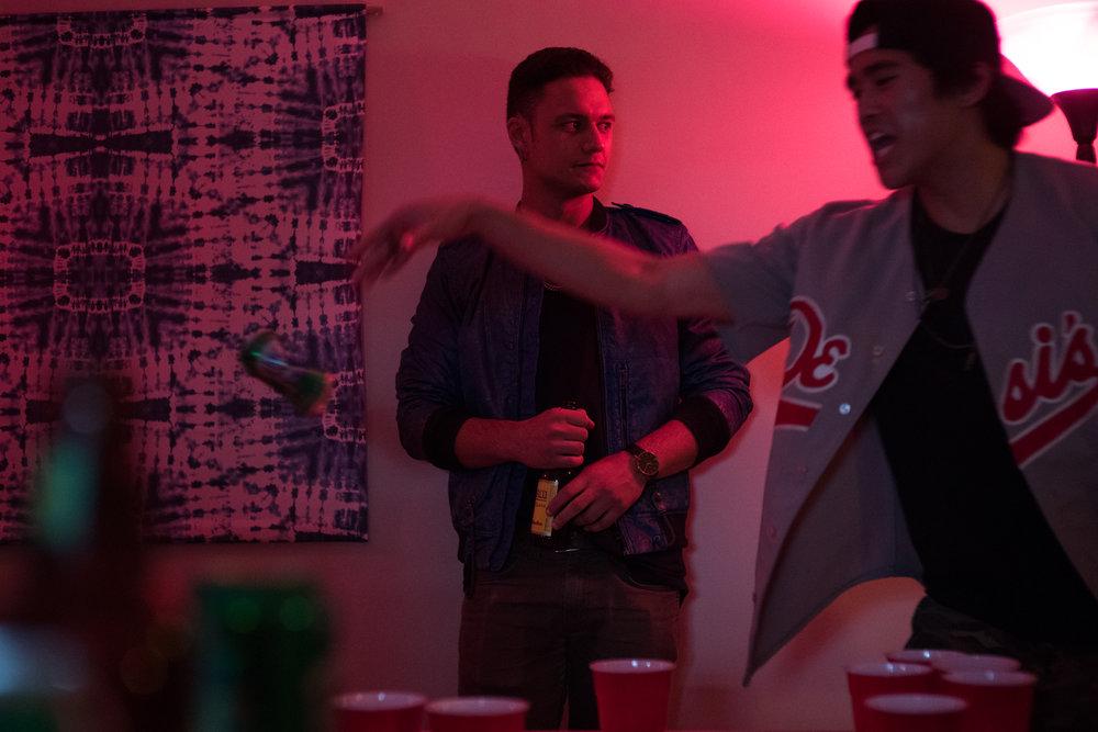 Josh (Juan Arturo) catches Naya's eye