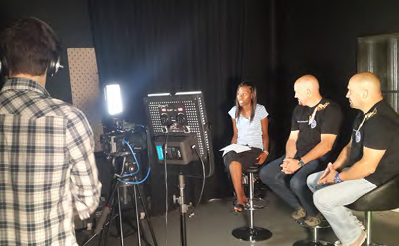 Our televsion interviews always opened doors for the televison show to be aired locally.