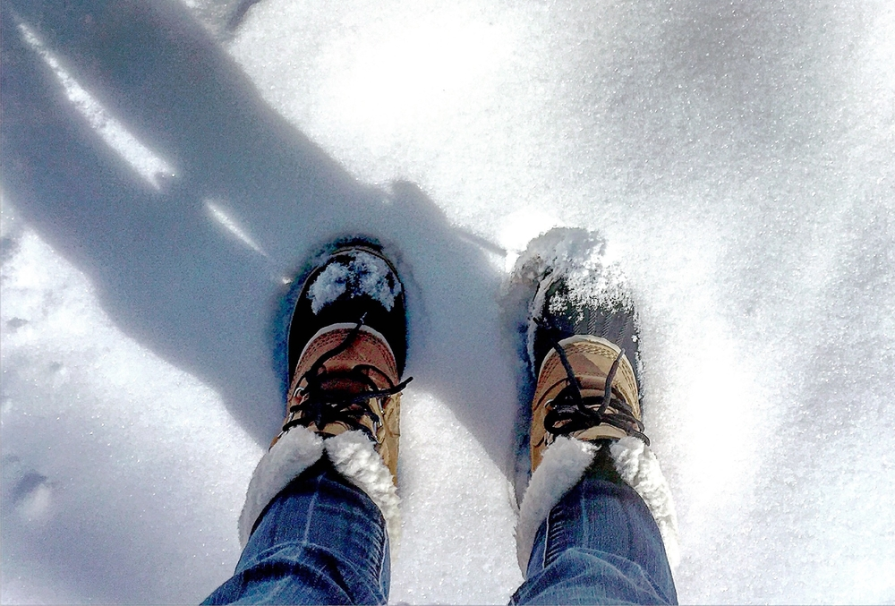 Ready for some winter fun! Snow boots by Sorel.