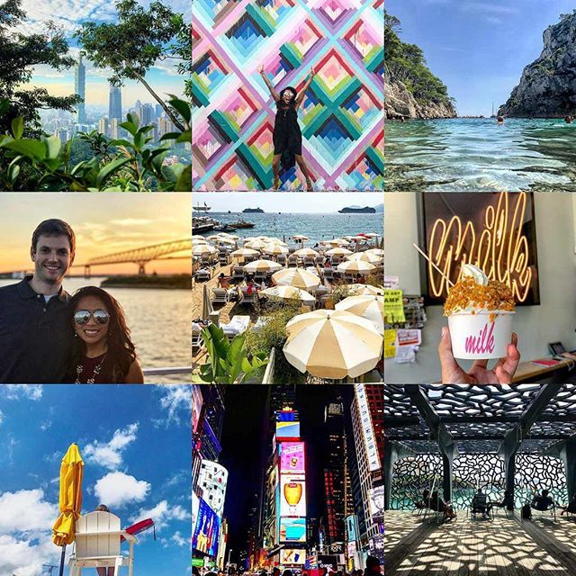 Obviously my #2018 has been off to a slow start cause I meant to post my #2017bestnine on January 1st. 🙈 Better late than never, but here it is! From Spain, France, Miami, NYC, Annapolis...2017 was pretty amazing to me. 2018 might be able to top it though. So here's to new adventures and actually posting them on Instagram 😉 #Singapore is up next in February, so send me your must-do's! ✈️ 🇸🇬