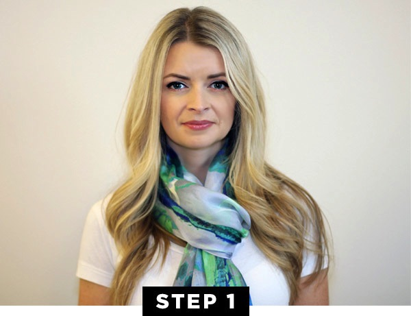 Outstanding Hair How To The Summery Scarf Braid Vince Camuto The Crest Hairstyle Inspiration Daily Dogsangcom