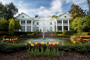 Charlotte NC - The Historic Duke Mansion  in the Myers Park comm