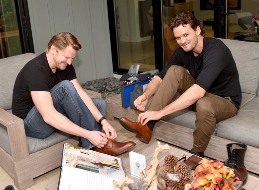 Dash Mihok and Austin Nichols