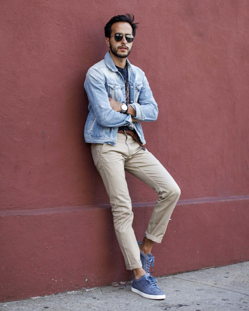 Moti Ankari styles the Grabell Sneaker.