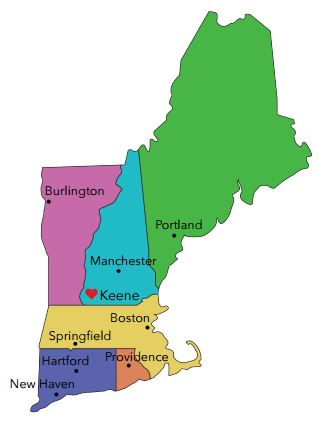 We're located in the heART of New England!