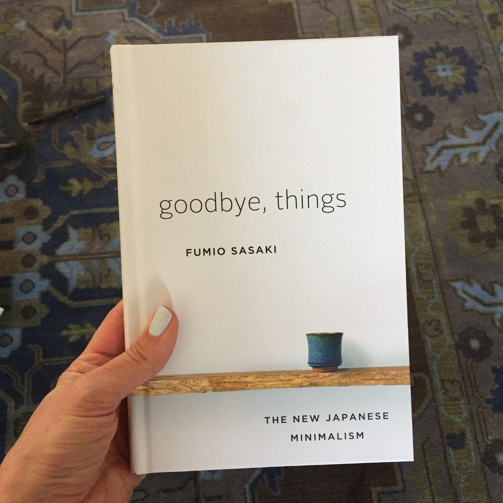 Goodbye things the new japanese minimalism