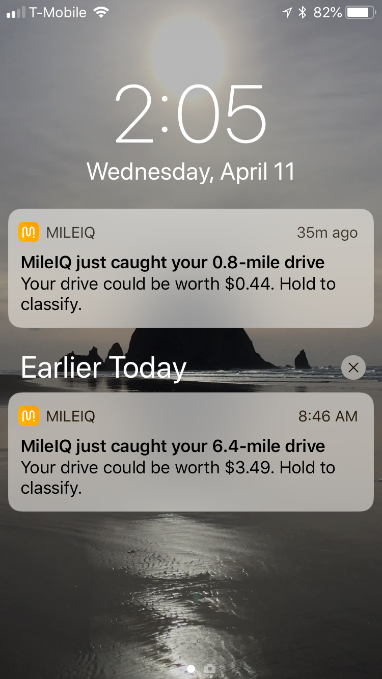 a review of mileage tracker app mileiq the inspired office