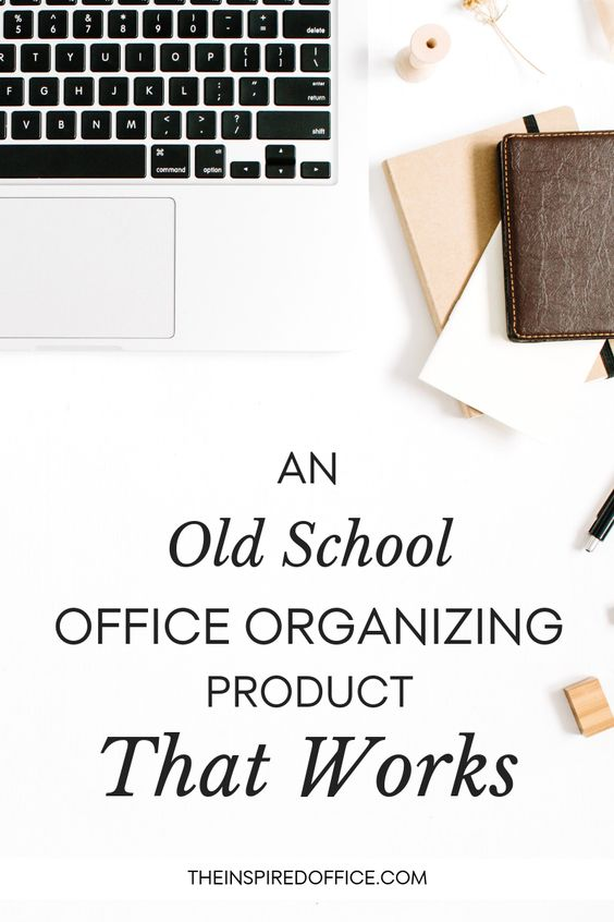 Sometimes out of the blue, a client's organizing dilemma prompts me to resurrect a solution I haven't turned to in years. Check out what it is and how you can use it to organize and declutter your office and home.