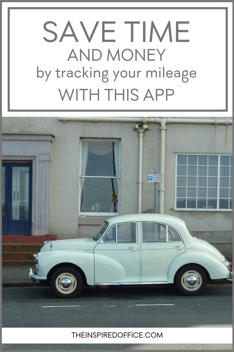If you work for yourself or need an easy way to track your mileage, you've got to try this app. It makes tax time a breeze!
