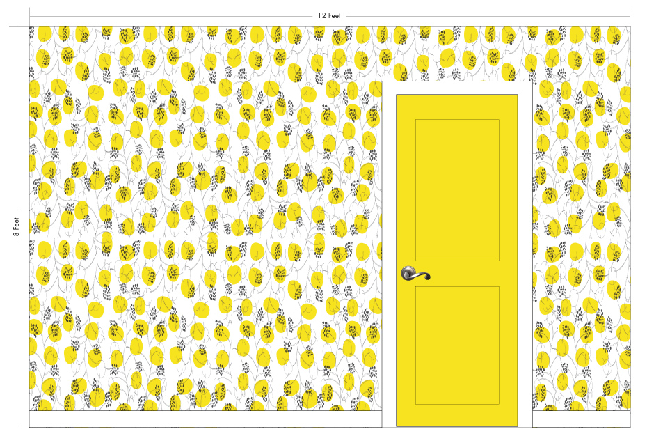 "MISS NEELY sunshine | Pattern Repeat: 14.25""w x 26""h"