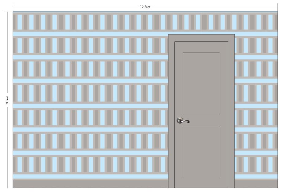 "FRITZ cyan   Pattern Repeat: 6.75""w x 13.25""w"