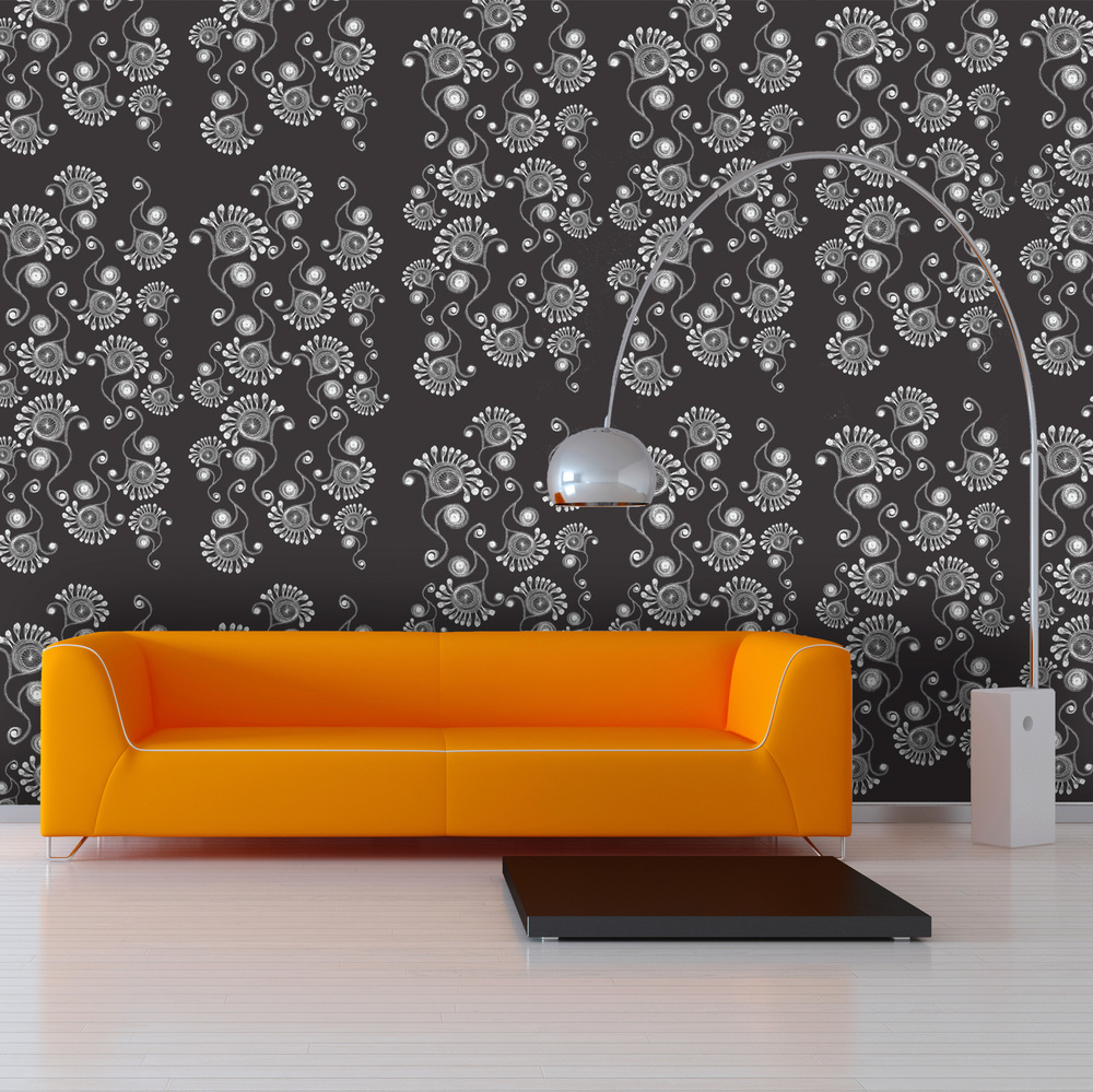 Orange-Couch-&-Arco-Lamp-SQUARE-MADDY-charcoal.jpg