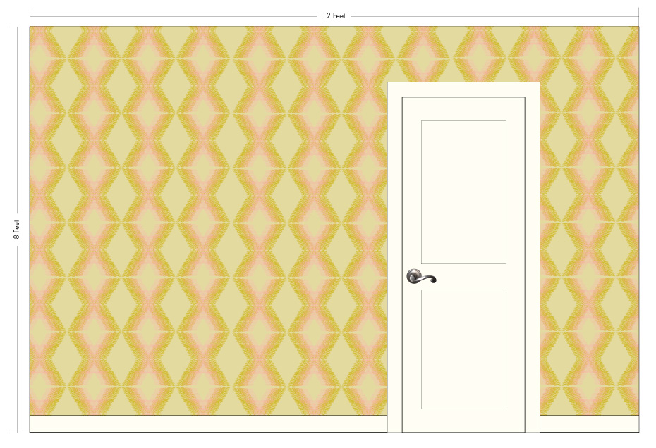 "XAVIER desert | Pattern Repeat:13.25"" w x 13"" h"