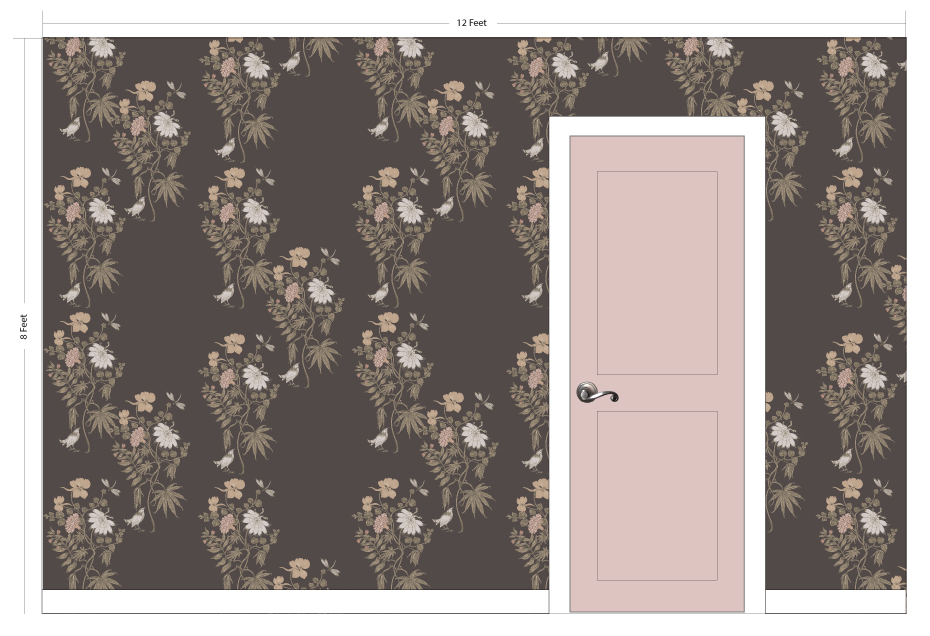 "PETAL pink | Pattern Repeat: 20""w x 33""h"