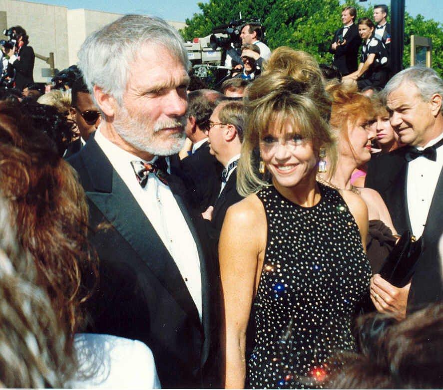 Jane Fonda and Ted Turner, photo by Alan Light