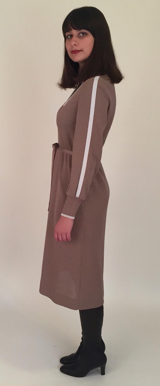 Brown Knit Dress Side.jpg