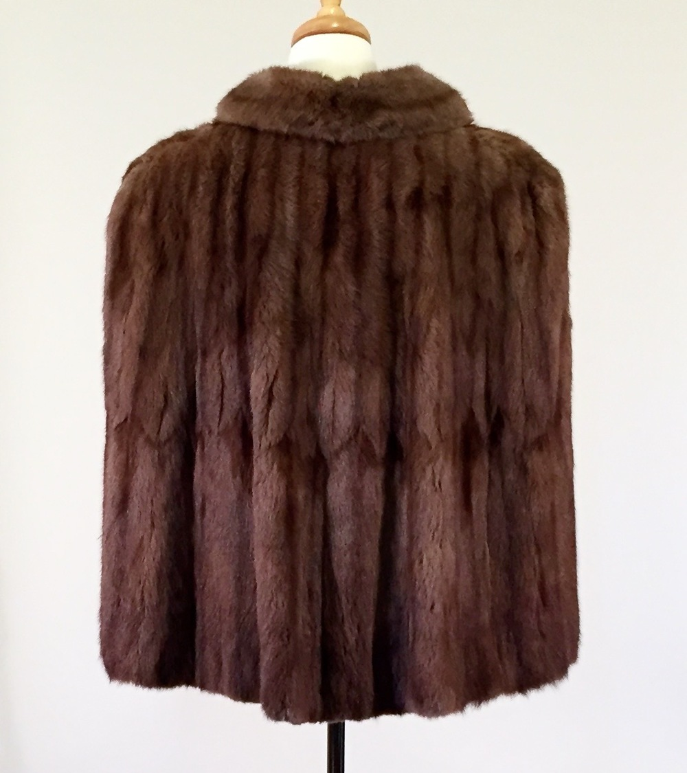 The Mildred Raccoon Cape