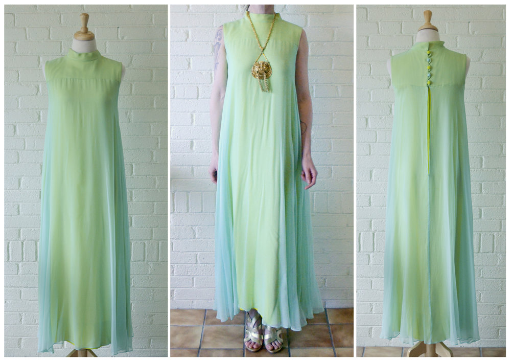 1960s Crepe Drape Dress FB.jpg