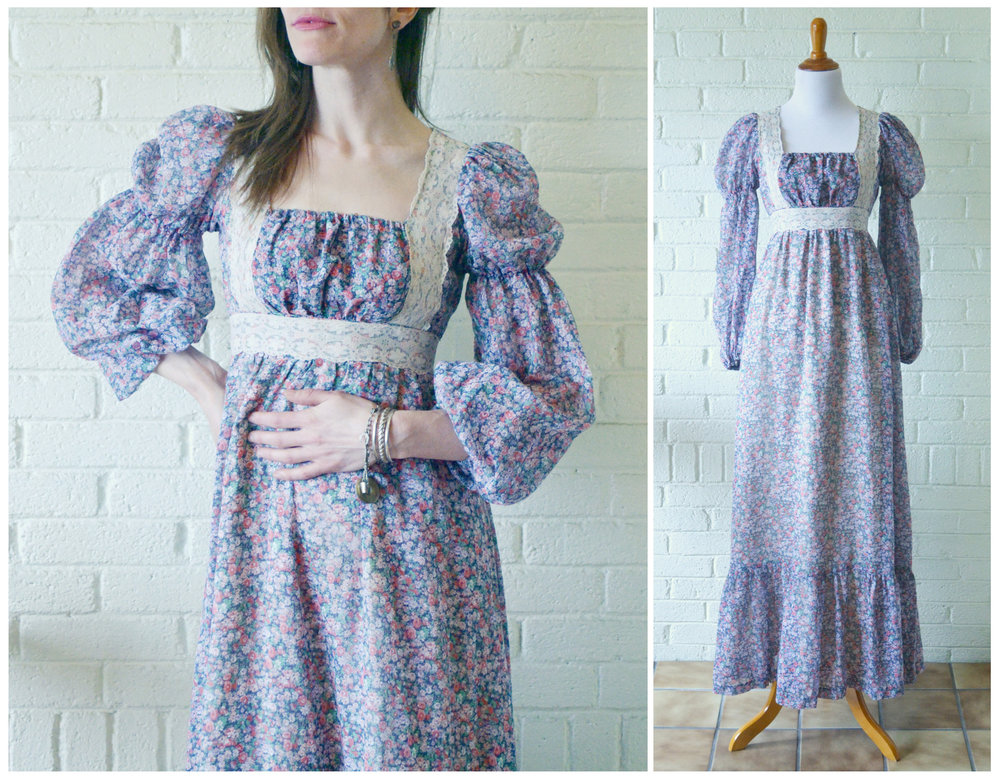 1960s Gunne Sax Peasant Dress Main.jpg