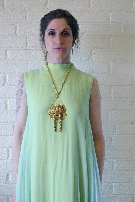 1960s Crepe Drape Dress M1.jpg
