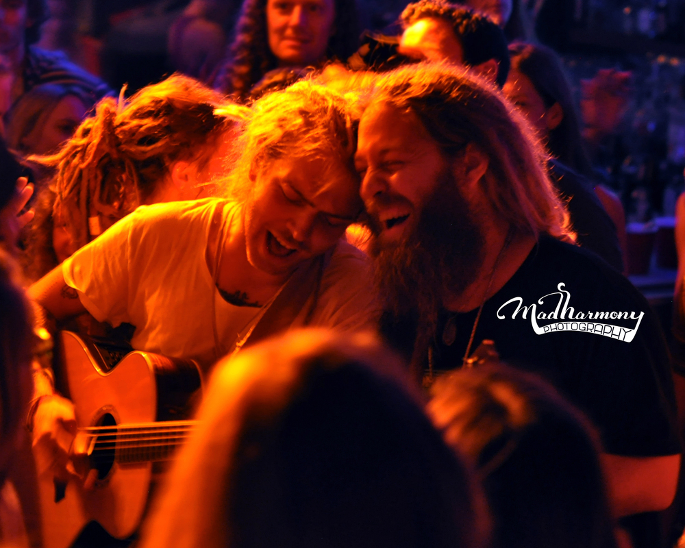 Trevor Hall & Mike Love encore in audience / 09.26.14 / Moe's Alley