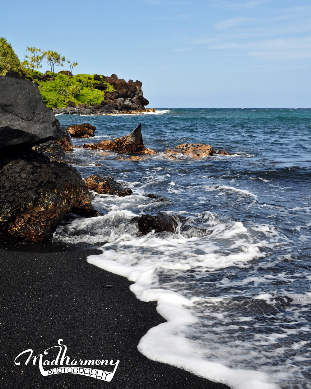 Black Sand Beach, Maui / May 2014