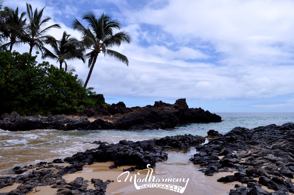 Makena Secret Beach, Maui / May 2014