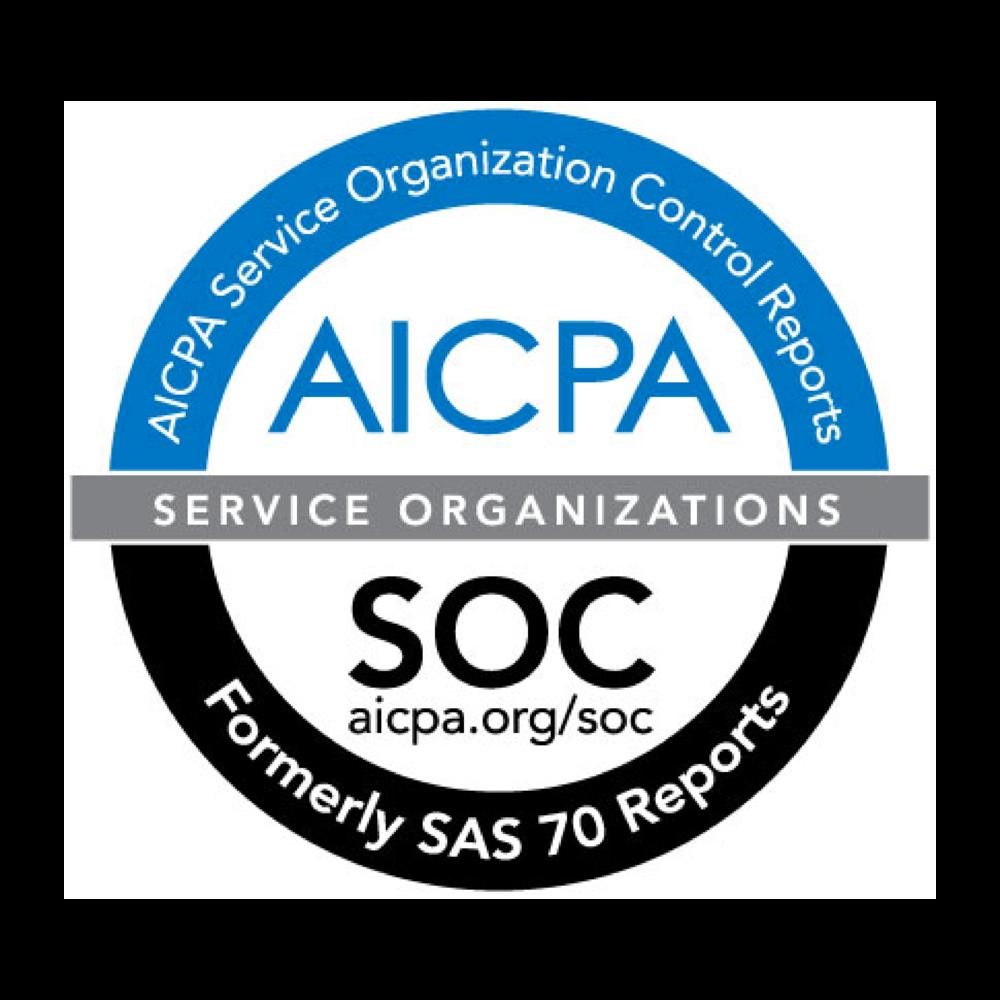 AICPA Service Organization Control Reports Certificate