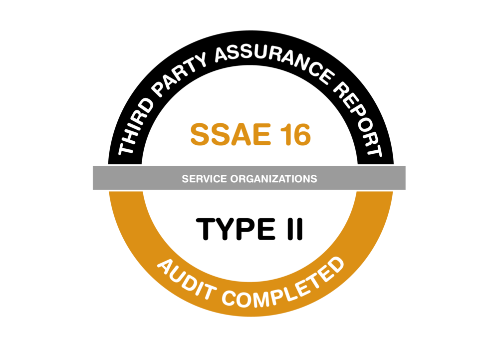 Third Party Assurance Report SSAE 16 Audit Certificate