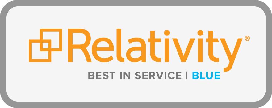 Relativity Best In Service Blue Certification