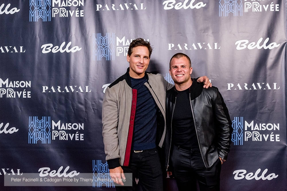 Actor Peter Facinelli attends the Bello and Maison Privee party at Hills Penthouse wearing Cadogan (@cadoganworld)