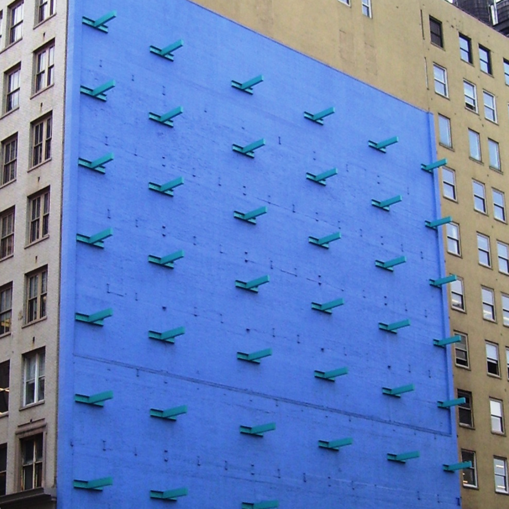 Forrest Myers' The Wall - NYC