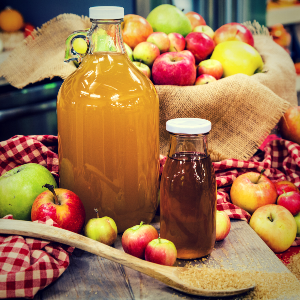 HOT APPLE CIDER -