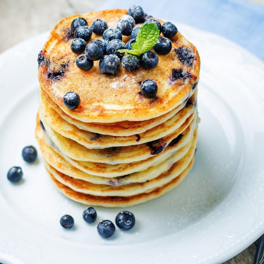 MembersHoliday | National Blueberry Pancake Day | NY